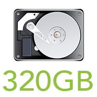 320GB HDD