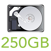 250GB HDD