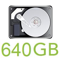 640GB HDD
